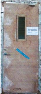 钢木质乙级隔热防火门