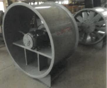 轴流式消防排烟风机
