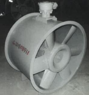 轴流式消防排烟风